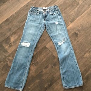 Abercrombie Distressed Jeans 2R
